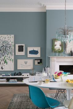 Oval Room Blue No.85 by Farrow & Ball Paint