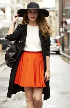 Everyday, Halloween Street Style. #halloween #street #style more #beauty and style news at http://skinbase.co.uk/blog/