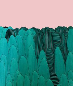 Guilin Mountains by Marina Molares
