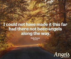 Inspiring words from Touched by an Angel star Della Reese... http://www.guideposts.org/inspirational-quotes?utm_source=Pinterest