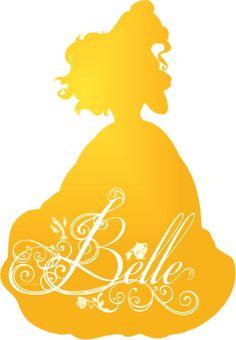 Belle Silhouette - Disney Princess Photo (37757454) - Fanpop