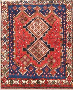 nice Superb Geometric 5x6 Wool Sirjan Persian Oriental Atrea Rug Carpet 5' 11 x 4' 9   Check more at http://harmonisproduction.com/superb-geometric-5x6-wool-sirjan-persian-oriental-atrea-rug-carpet-5-11-x-4-9/
