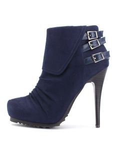 Almost all of my going out heels are from Charlotte Russe. I love their booties especially.