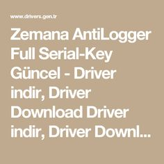 Zemana AntiLogger Full Serial-Key Güncel - Driver indir, Driver Download Driver indir, Driver Download