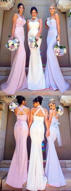 long bridesmaid dress, pink long bridesmaid dress, white long bridesmaid dress, lavender long bridesmaid dress, wedding party dress