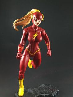 Lady Flash (DC Superheroes) Custom Action Figure