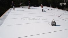 Single-Ply Flat Roofing Membranes – PVC, TPO | Follow Lasher Roofing  Contracting  | www.lashercontracting.com | Southern New Jersey | #Roofing  #Contracting #Remodeling