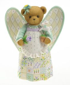 Take a look at this Spring Angel of the Sea Figurine by Cherished Teddies on #zulily today!