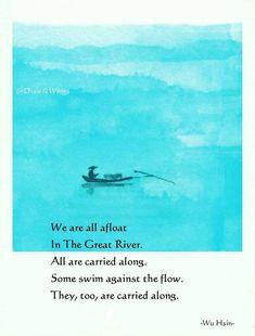 Zen Quotes, Poetry Quotes, Inspirational Quotes, Free Verse Poems, Japanese Haiku, Tao Te Ching, Buddha Quote, English Writing Skills, Spiritual Wisdom