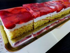 Cheesecake, Strawberry, Food And Drink, Recipes, Mascarpone, Cheesecakes, Recipies, Strawberry Fruit, Ripped Recipes