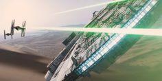 star wars the force awakens episode 7 millennium falcon