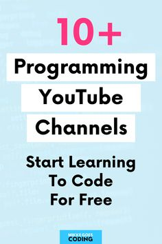 So you want to learn to code for free this year? Then check out these top YouTube programming channels to learn in-demand languages and skills such as HTML, CSS, JavaScript, Python, and PHP from scratch. If you are new to coding, these channels are more than enough to build your first coding and web development projects to showcase your skills. Happy learning! #mikkegoes Learn Programming, Programming Languages, Computer Programming, Learn Html, Learn To Code, Coding For Beginners, Web Development Projects, Good Tutorials, Python