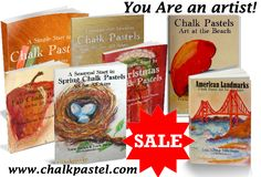 50% off ALL art curriculum at Hodgepodge!  We LOVE chalk pastels!