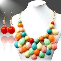 Use coupon code: pin10 for 10% off your first purchase on www.blondellamydean.com  #earrings #beads #multicolor #necklace #jewelry #blondellamydean