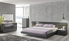 J&M Furniture Braga Panel Bed | AllModern