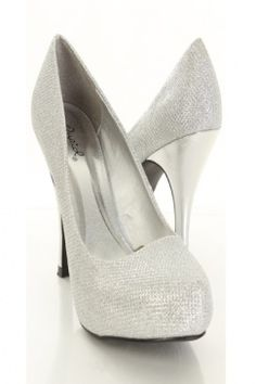 More silver shoes