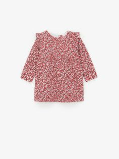 Fartido Toddler Baby Girls Off Shoulder Elastic Fashion Blouse Floral Skirts Set