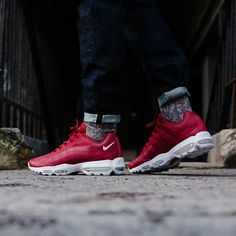 Nike Air Max 95 Ultra Essential Gym Red -  . http://mtr.li/2mx8F0l #musthave #musthaves #loveit