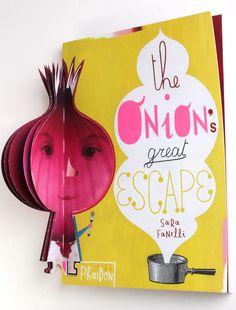 """The Onion's great escape"""", de Sara Fanelli."""