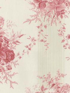 Interior Place - Pink Morgan Toile Wallpaper, $33.99 (http://www.interiorplace.com/pink-morgan-toile-wallpaper/)