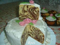 Zebra muffinok Cake, Desserts, Food, Tailgate Desserts, Deserts, Kuchen, Essen, Postres, Meals