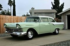 1957 Ford Custom Tudor Sedan