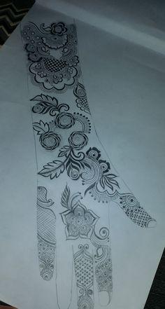 Modern Henna Designs, Floral Henna Designs, Back Hand Mehndi Designs, Latest Bridal Mehndi Designs, Modern Mehndi Designs, Henna Art Designs, Mehndi Designs For Beginners, Mehndi Design Photos, Beautiful Henna Designs