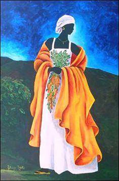 Season Tamarind ~ by Patricia Brintle, Haiti