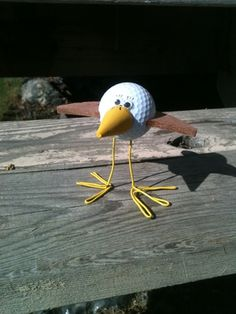golf ball crafts | Golf Ball Birdie