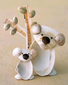 Seashell Koalas - Martha Stewart Food