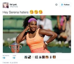 Serena Williams Won Wimbledon And People Are Losing Their Minds
