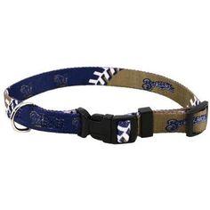 Milwaukee Brewers Dog Collar - Medium