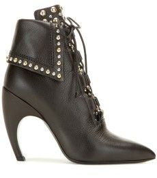 Givenchy - Embellished leather ankle boots - mytheresa.com
