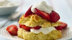Gluten-Free Strawberry Shortcakes scream Valentine's Day! Share these sweet treats with your sweetie.