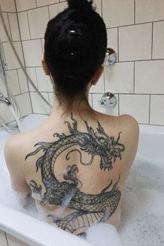 tattoos back & tattoos back ; tattoos back of arm ; tattoos back of neck ; tattoos back women ; tattoos back spine ; tattoos back shoulder ; tattoos back of leg ; tattoos back of arm above elbow Dragon Tattoo For Women, Dragon Tattoo Designs, Tattoo Designs Men, Black Dragon Tattoo, Lower Back Tattoo Designs, Dragon Tattoo On Forearm, Dragon Tattoo Female, Dragon Tattoo Chest, Tattoo Spine