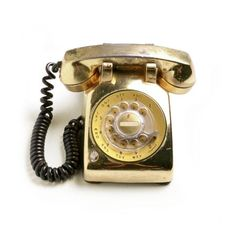 A Golden Phone.  Rotary stylin' - of course.  ;)