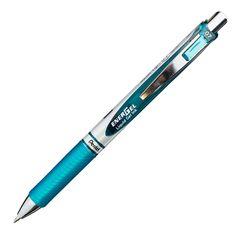 BL77-S3 | EnerGel   Gel Roller Pen | Turquoise Blue Ink Stylo à encre gel | Encre Bleu Turquoise
