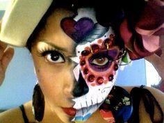Lost+Love...+Dia+De+Los+Muertos+(Day+Of+The+Dead)+Makeup+Tutorial++#howto+#tutorial