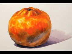 Foundation Course in Watercolor 2 - Tangerine  基礎水彩示範 - 柑橘 - YouTube