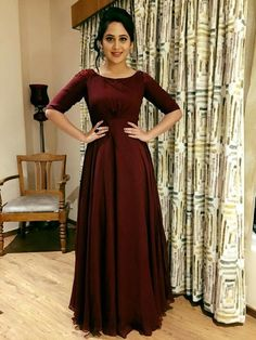 Sexy Prom Dress Long Prom Dresses, Formal Evening Dress, on Luulla Gown Party Wear, Frock Patterns, Simple Gowns, Bridesmaid Dresses, Prom Dresses, Reception Dresses, Indian Gowns Dresses, Frock Dress, Anarkali Dress