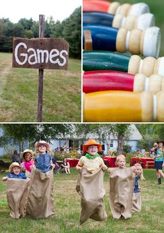 country themed party - games