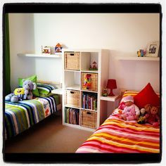 kids shared bedroom ideas - Google Search
