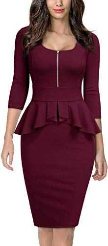 Looking for Miusol Women's Retro Square Neck Ruffle Style Slim Business Pencil Dress ? Check out our picks for the Miusol Women's Retro Square Neck Ruffle Style Slim Business Pencil Dress from the popular stores - all in one. Latest African Fashion Dresses, Women's Fashion Dresses, Casual Dresses, Fashion Hair, Lolita Fashion, Women's Dresses, Office Dresses For Women, Frack, Bodycon Dress Parties