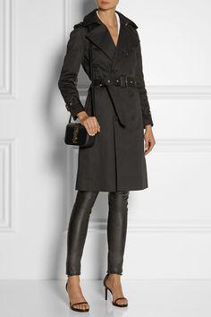 Saint Laurent | Gabardine trench coat | NET-A-PORTER.COM