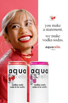 The Aquarelle website is intended only for those of legal drinking age. Potato Pasta, Legal Drinking Age, Summertime Drinks, Natural Face, Paper Flowers Craft, Ad Design, Natural Flavors, Beautiful Cakes, Yoga Fitness