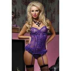 Purple Sexy Paisley Pleasure Bustier Thong Set - lingerie photos, classy womens lingerie, cute intimates *sponsored https://www.pinterest.com/lingerie_yes/ https://www.pinterest.com/explore/intimates/ https://www.pinterest.com/lingerie_yes/wedding-lingerie/ http://www.sears.com/clothing-shoes-jewelry-clothing-women-s-clothing-intimates-sleepwear/b-1279794998