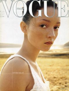 Audrey Marnay by Steven Meisel Vogue Italia May 1997