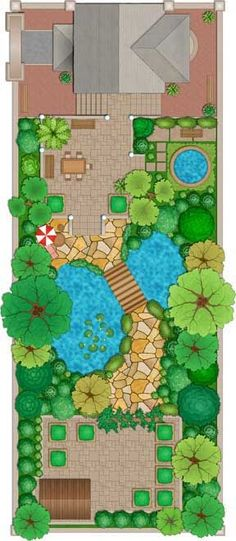 landscape design plan Architectural Landscape Design