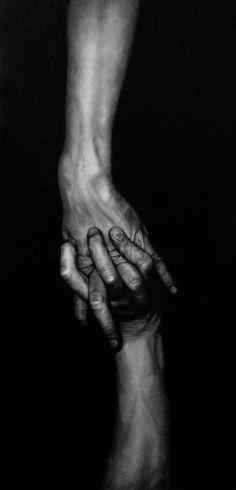 *hands