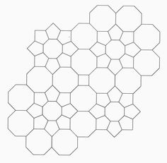 From Pretty and Useful, an awesome octagon-based design.